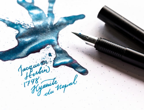 Introducing Kyanite du Nepal, The Newest Jacques Herbin 1798 Anniversary Fountain Pen Ink