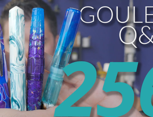 Goulet Q&A Episode 256: Pilot Nibs, Women Pen Makers, and If Goulet Kids Will Take Over The Business