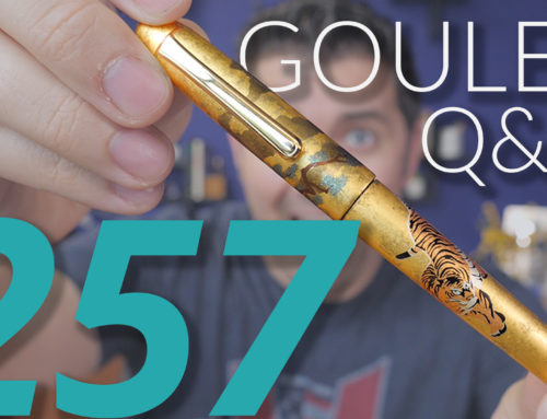 Goulet Q&A Episode 257: Lots of Ink Questions!