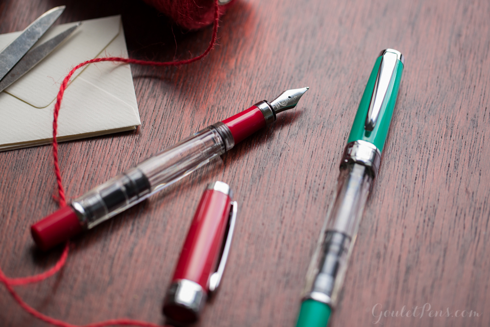 TWSBI 580 Red and Green