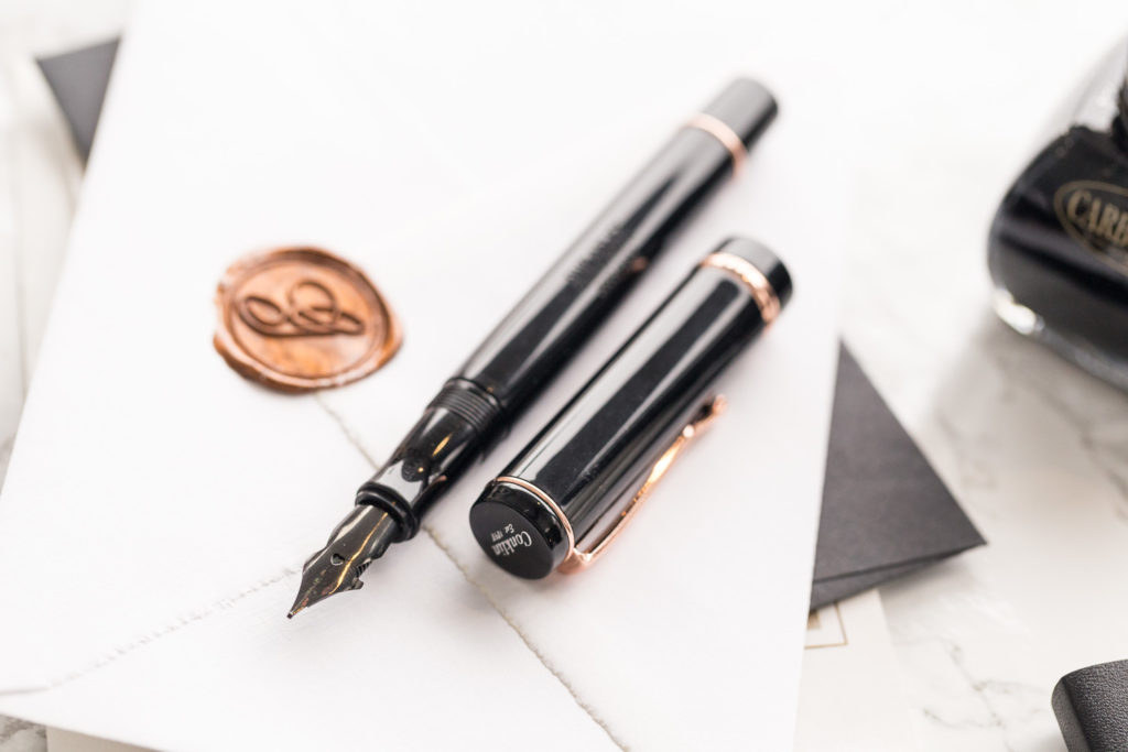 Conklin Duraflex Black Rose Gold