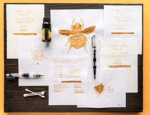 Robert Oster Honey Bee: A Goulet Inksploration