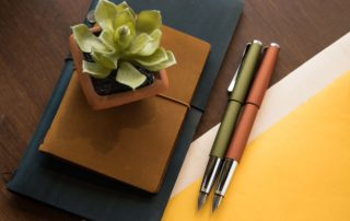 LAMY Studio Olive and Terracotta
