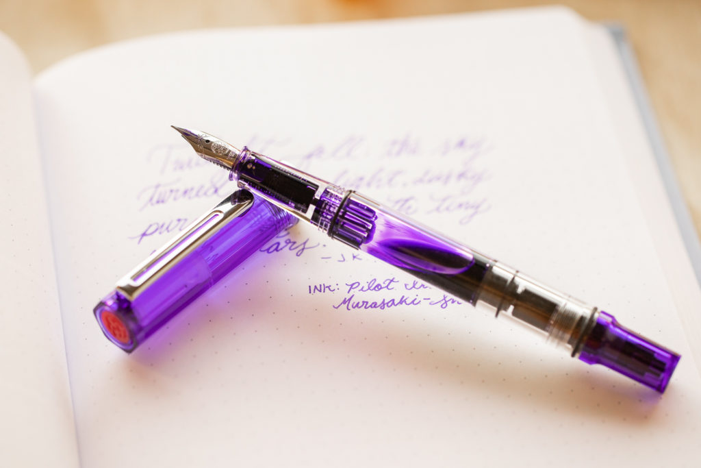TWSBI ECO Transparent Purple