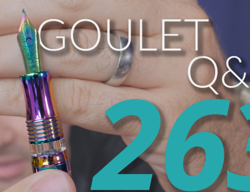 Goulet Q&A Episode 263: Pen Collecting, DC Pen Show Recap, and Have Fountain Pens Peaked?