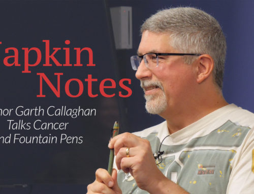 Napkin Notes Dad – Author Garth Callaghan Talks Cancer and Fountain Pens