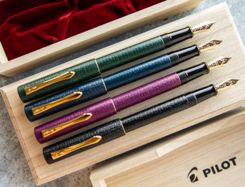Introducing the Pilot Ishime Collection of Fountain Pens!