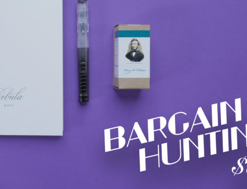 Bargain Hunting: Pen, Ink, and Paper for Under $50