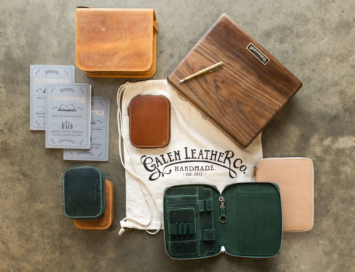 Galen Leather Co. Products Available at Goulet Pens