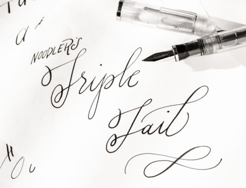 Introducing the Noodler's Triple Tail Flex Pen