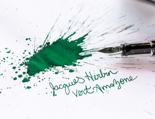 Jacques Herbin Vert Amazone: A Goulet Inksploration
