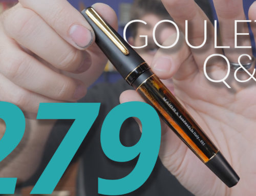 Goulet Q&A Episode 279: Brian's Favorite Discontinued Pens, and the Most Polarizing Products