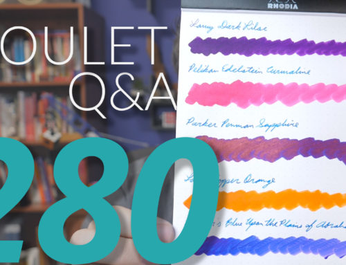 Goulet Q&A Episode 280: Pen Brand Relationships and Where Free Ink Really Comes From
