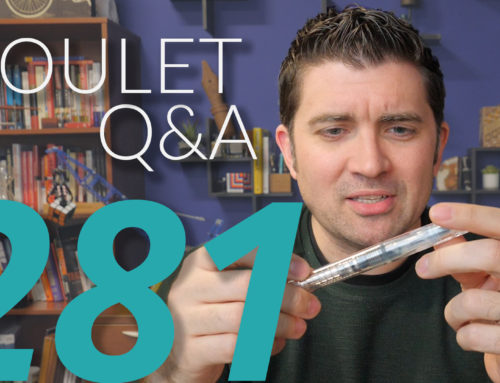 Goulet Q&A Episode 281: Which Fountain Pens Stain, and the Best Pens to Come in 2020