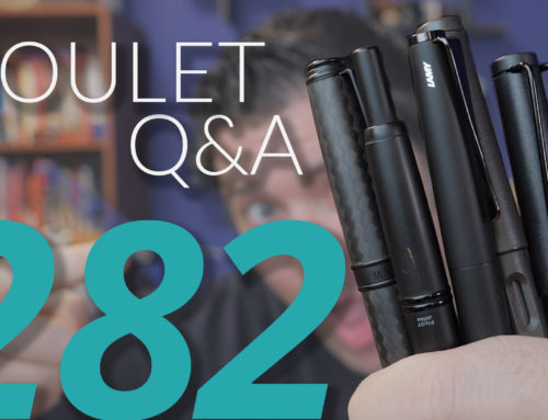 Goulet Q&A Episode 282: Brian's Favorite Stealth Pens, and New Products Leaks
