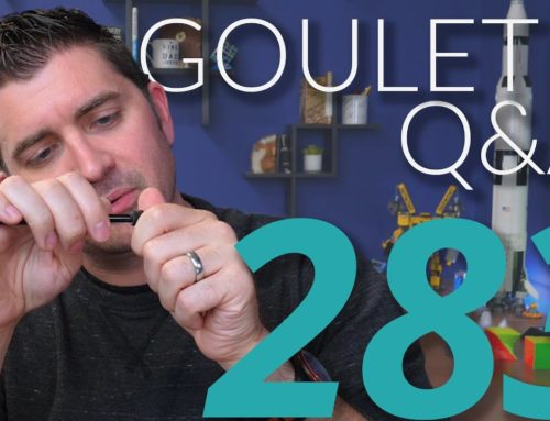 Goulet Q&A Episode 283: Best Pens to Dismantle, Rose Gold Ink, and Prepping for Long-Term Storage