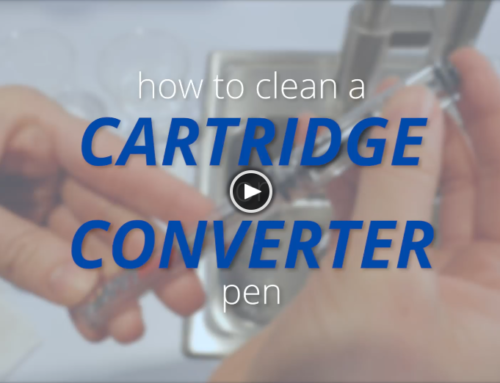 How to Clean a Fountain Pen: Cartridge/Converter
