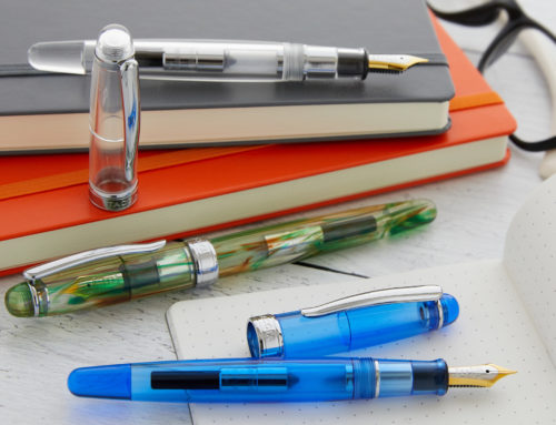 Introducing the Taccia Spotlight Fountain Pen